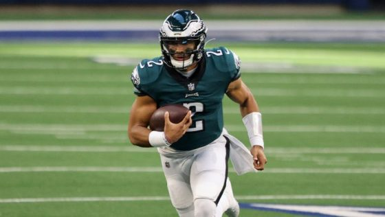 Howie Roseman: We want to see Jalen Hurts grab the job and run with it